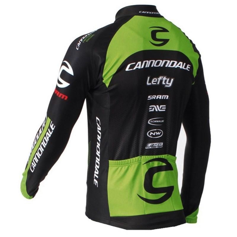 2016 Cannondale Cycling Jersey Long Sleeve and Cycling bib Pants Cycling  Kits Strap 45739d99b