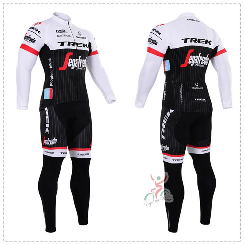 2016 trek Thermal Fleece Cycling Jersey Ropa Ciclismo Winter Long Sleeve and Cycling Pants ropa ciclismo thermal ciclismo jersey thermal