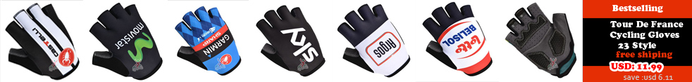 Tour De France Cycling Gloves 23 Style