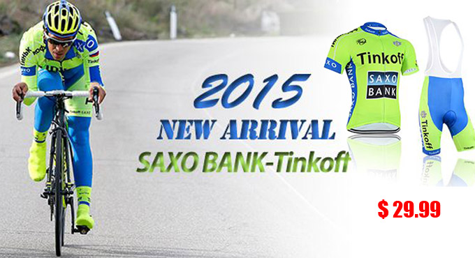 015 Saxo bank tinkoff Cycling Jersey