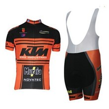 b8a159a82 ... 2014 KTM Cycling Jersey Maillot Ciclismo Short Sleeve and Cycling bib  Shorts Cycling Kits Strap cycle