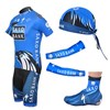 2012 saxobank Cycling Jersey+Shorts+Headscarf+Arm Sleeves+Shoe Covers