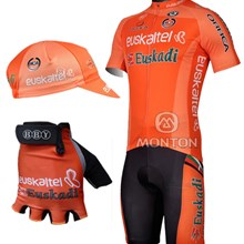2012 euskaltel Cycling Jersey and bib Shorts and gloves and cap 0212971c3