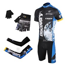 2007 discovery Cycling Jersey+bibShorts+Glove+Arm sleeve a9041483e