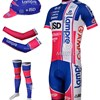 2012 lampre isd Cycling Jersey+Shorts+Arm Sleeves+Leg Warmers+Cap