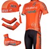 2012 euskaltel euskadi Cycling Jersey+Shorts+Shoe Covers+Arm Sleeves+Headscarf