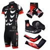 2011 castelli Cycling Jersey+Shorts+Shoe Covers+Arm Sleeves+Gloves