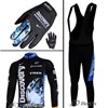 2007 discovery Thermal Fleece Cycling Long Jersey+bib Pants+Gloves Long Finger