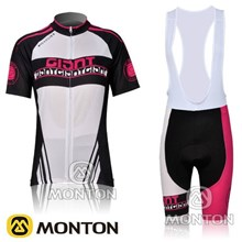 2012 women's giant black white bddt01.jpgCycling Jersey Short Sleeve and Cycling bib Shorts Cycling Kits Strap