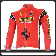 2012 Thermal Fleece FALALI Cycling Jersey Long Sleeve Only S