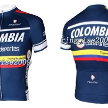2012 colombia Cycling Jersey Short Sleeve Only Cycling Clothing S