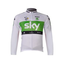 ... 2012 sky white Cycling Jersey Long Sleeve Only Cycling Clothing e756cf13d