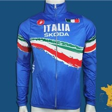 2011 skoda italy Cycling Jersey Long Sleeve Only Cycling Clothing b9b45cf12