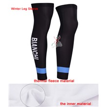 2014 bianchi Thermal Fleece Cycling Leg Warmers bicycle sportswear mtb racing ciclismo men bycicle tights bike clothing