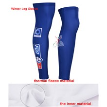 2014 fdj fr Thermal Fleece Cycling Leg Warmers bicycle sportswear mtb racing ciclismo men bycicle tights bike clothing