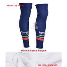 2014 lampre Thermal Fleece Cycling Leg Warmers bicycle sportswear mtb racing ciclismo men bycicle tights bike clothing