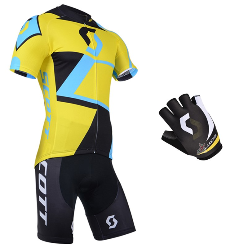 2014 scott Cycling Jersey Maillot Ciclismo Short Sleeve and Cycling ... 2eccd0b6f