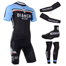 2014 bianchi Cycling Jersey Maillot Ciclismo Short Sleeve and Cycling bib Shorts Or Shorts and Shoe Cover and Arm Sleeve and Leg Sleeve Tour De France