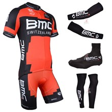 2014 bmc Cycling Jersey Maillot Ciclismo Short Sleeve and Cycling bib Shorts Or Shorts and Shoe Cover and Arm Sleeve and Leg Sleeve Tour De France