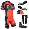 2014 bmc Cycling Jersey Maillot Ciclismo Short Sleeve and Cycling bib Shorts Or Shorts and Cap and Arm Sleeve and Leg Sleeve and Shoe Cover Tour De France XXS