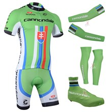 2014 cannondale Cycling Jersey Maillot Ciclismo Short Sleeve and Cycling bib Shorts Or Shorts and Shoe Cover and Arm Sleeve and Leg Sleeve Tour De Fra