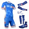 2014 fdj fr Cycling Jersey Maillot Ciclismo Short Sleeve and Cycling bib Shorts Or Shorts and Cap and Arm Sleeve and Leg Sleeve and Shoe Cover Tour De France