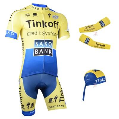 8926c7840 2014 saxo bank Cycling Jersey Maillot Ciclismo Short Sleeve and ...