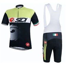 2015 SIDI\15033 Cycling Jersey Maillot Ciclismo Short Sleeve and Cycling bib Shorts Cycling Kits Strap cycle jerseys Ciclismo bicicletas maillot ciclismo