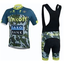 2015 TINKOFF Saxo Bank Cycling Jersey Maillot Ciclismo Short Sleeve and Cycling bib Shorts Cycling Kits Strap cycle jerseys Ciclismo bicicletas maillot ciclismo
