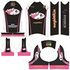 OKE Design Women cycling bib short kits Cycling Jersey & Bib shorts XXS