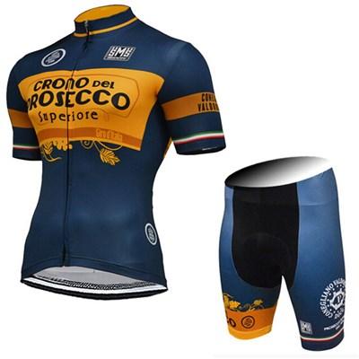 2015 CRONO DEL PROSECCO Cycling Jersey Short Sleeve Maillot Ciclismo and Cycling  Shorts Cycling Kits cycle jerseys Ciclismo bicicletas-Up to 60% off cf81c789c