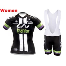 2015 Liv Plantur Cycling Jersey Maillot Ciclismo Short Sleeve and Cycling bib Shorts Cycling Kits Strap cycle jerseys Ciclismo bicicletas maillot ciclismo
