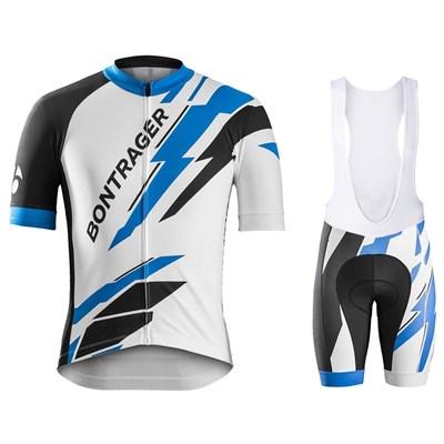 6c6108ee8 2016 Bontrager Cycling Jersey Maillot Ciclismo Short Sleeve and Cycling bib  Shorts Cycling Kits Strap cycle jerseys Ciclismo bicicletas
