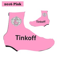 2016 Tinkoff Saxo Bank Pink Cycling Shoe Covers bicycle sportswear mtb  racing ciclismo men bycicle tights 5bd9636f5