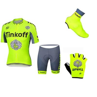 2b32149f0 2016 Tinkoff Saxo Bank Fluo Yellow Cycling Jersey Maillot Ciclismo ...