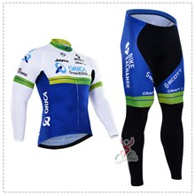 2016 orica greenedge Thermal Fleece Cycling Jersey Ropa Ciclismo Winter Long Sleeve and Cycling Pants ropa ciclismo thermal ciclismo jersey thermal XXS