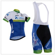 2016 greenedge Cycling Jersey Maillot Ciclismo Short Sleeve and Cycling bib Shorts Cycling Kits Strap cycle jerseys Ciclismo bicicletas XXS