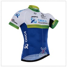 2016 greenedge Cycling Jersey Ropa Ciclismo Short Sleeve Only Cycling Clothing cycle jerseys Ciclismo bicicletas maillot ciclismo XXS