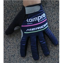 2016 LAMPRE Cycling Thermal Fleece Glove Long Finger bicycle sportswear mtb racing ciclismo men bycicle tights bike clothing M