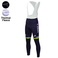 2016 Lampre  Thermal Fleece Cycling bib Pants Ropa Ciclismo Winter Only Cycling Clothing cycle jerseys Ropa Ciclismo bicicletas maillot ciclismo XXS
