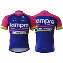 Lampre 2017  Cycling Jersey Ropa Ciclismo Short Sleeve Only Cycling Clothing cycle jerseys Ciclismo bicicletas maillot ciclismo XXS