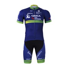 2017 Orica Greenedge Cycling Jersey Short Sleeve Maillot Ciclismo and Cycling Shorts Cycling Kits cycle jerseys Ciclismo bicicletas XXS
