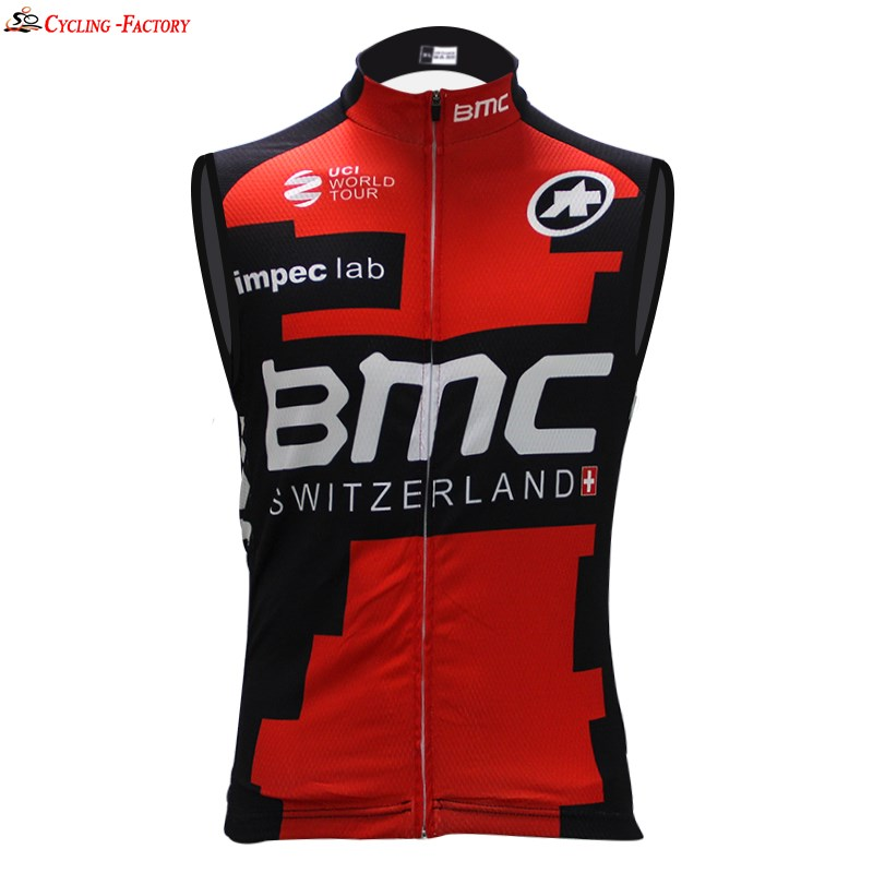ff4de5681de 2017 BMC 01 Cycling Vest Jersey Sleeveless Ropa Ciclismo Only ...