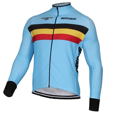 f296fb7b396 2017 BELGIAN NATIONAL TEAM Cycling Jersey Long Sleeve Only Cycling Clothing  cycle jerseys Ropa Ciclismo bicicletas maillot ciclismo