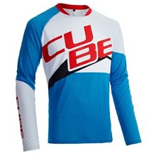 CUBE Racing Race Jersey Men's Motocross/MX/ATV/BMX/MTB Off-Road Dirt Bike T- Shirt XXS