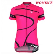 2016 Women Pinarello MIRA Pink Cycling Jersey Ropa Ciclismo Short Sleeve Only Cycling Clothing cycle jerseys Ciclismo bicicletas maillot ciclismo XXS