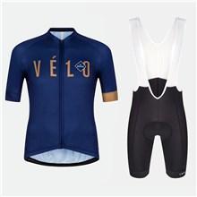 2018 VELO Cycling Jersey Maillot Ciclismo Short Sleeve and Cycling bib  Shorts Cycling Kits Strap cycle 2f8b32105