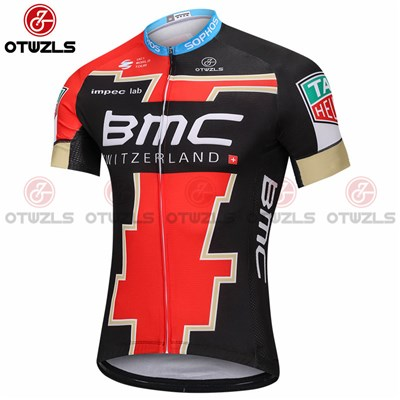90a7f0004 2018 BMC GOLD Cycling Jersey Ropa Ciclismo Short Sleeve Only Cycling  Clothing cycle jerseys Ciclismo bicicletas maillot ciclismo-Up to 60% off