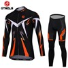 OTWZLS Cycling Jersey Long Sleeve and Cycling Pants Cycling Kits S