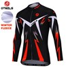OTWZLS Thermal Fleece Cycling Jersey Ropa Ciclismo Winter Long Sleeve Only Cycling Clothing cycle jerseys Ropa Ciclismo bicicletas maillot ciclismo